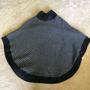 Banana Republic poncho sweater